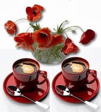 два кофе цветы (336x373, 35Kb)