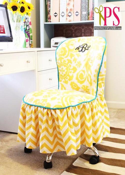 Чехлы для старых стульев своими руками