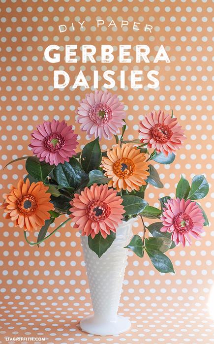 DIY_Gerbera_Daisies_Paper (435x700, 508Kb)