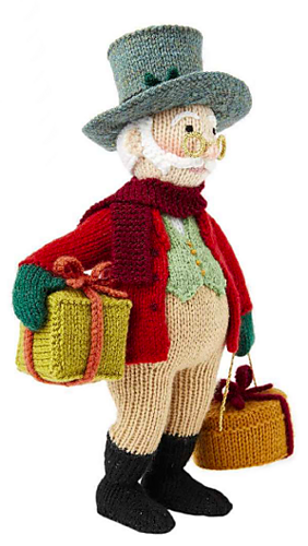 Вязаные игрушки от Алана Дарта. Дедушка Jolly (2) (282x500, 190Kb)