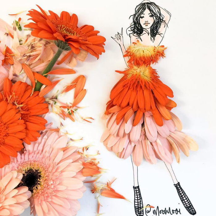 платья из цветов и овощей 1 (700x700, 538Kb)