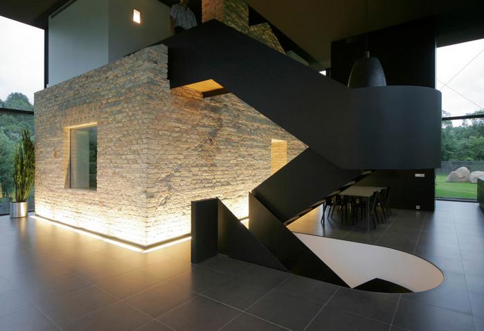 современый стеклянный дом фото 4 (700x478, 338Kb)