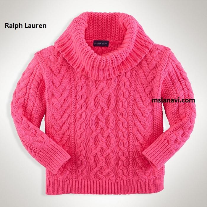 Детские свитера для девочек своими руками