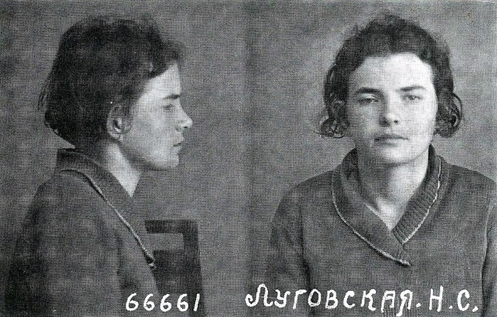 Нина Луговская,  школьница (700x446, 167Kb)