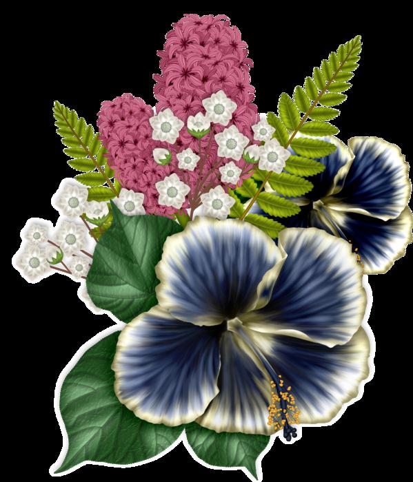 bsd_Floral Elegance_ Element (14x) (599x700, 536Kb)