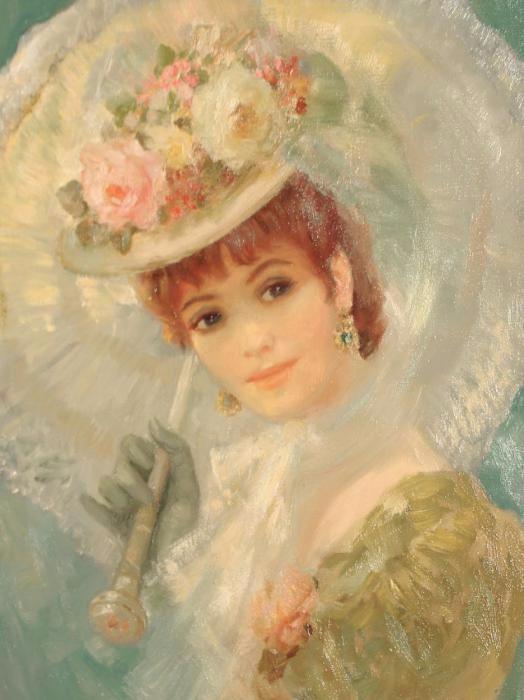 Английский художник Фредерик Джон Ллойд Стревенс 8 (524x700, 259Kb)