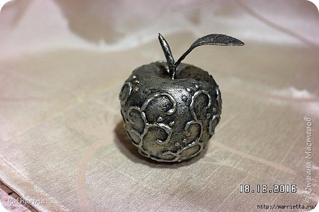 Яблочки из папье-маше. Мастер-класс (4) (650x433, 152Kb)