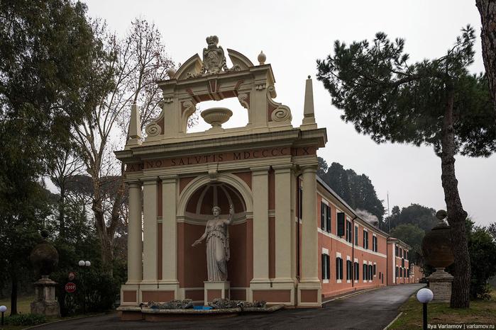 вилла Абамелек российское посольство в италии 1 (700x466, 358Kb)
