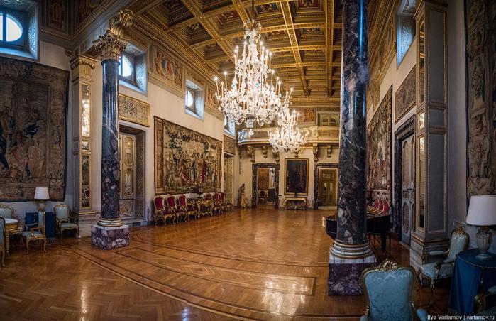 вилла Абамелек российское посольство в италии 7 (700x452, 447Kb)