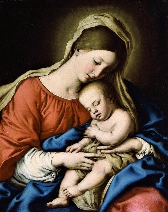 Мадонна с Младенцем  (Virgin and Child),   48.3 х 38.7,  х.,м.,   Бостон,Музей изобразительных искусств (554x700, 124Kb)