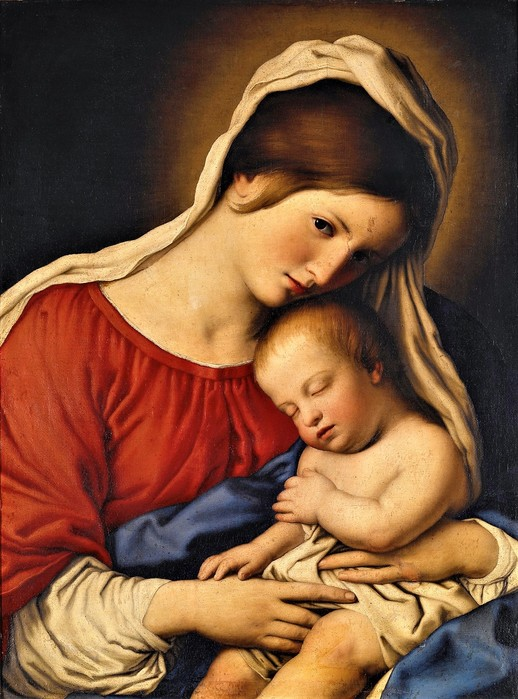 Мадонна с Младенцем (Virgin and Child),   63.7 х 45.7,   х.,м.,    Индианополис,  Художественный музей (518x700, 108Kb)