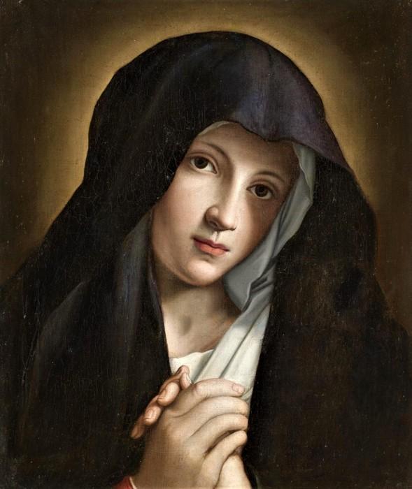 Молящаяся Мадонна (The Madonna in Prayer),   47 х 38.5,    х.,м.,   Частное собрание (589x700, 90Kb)