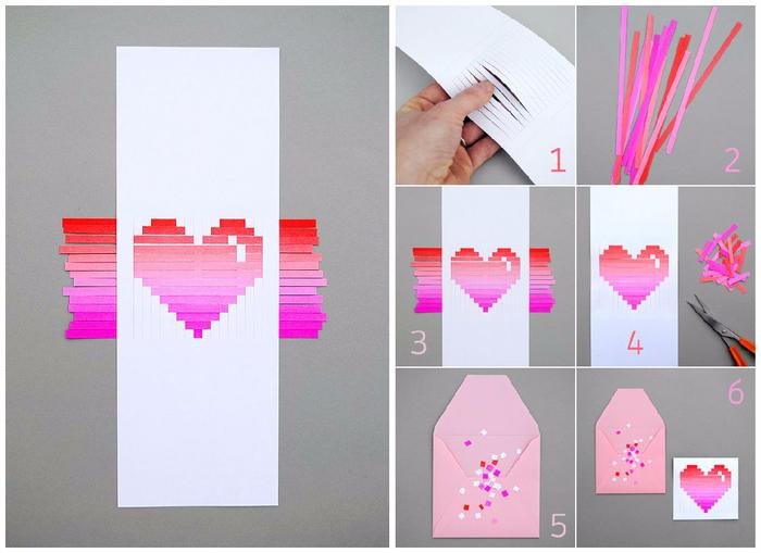 Как сделать девушке открытку 516