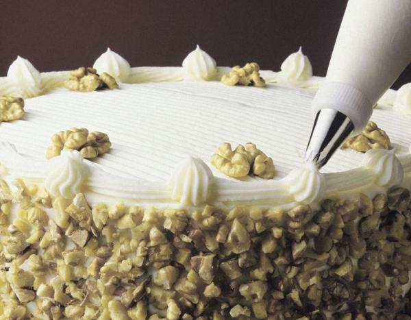 Рецепт чудесного крема для украшения авторского торта!