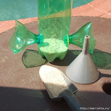 Из пластиковых бутылок - кормушка для птиц (6) (450x450, 135Kb)