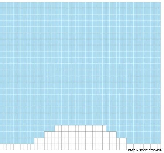 Крючком. Детский плед с морем, парусниками и воздушными шарами (16) (577x537, 154Kb)