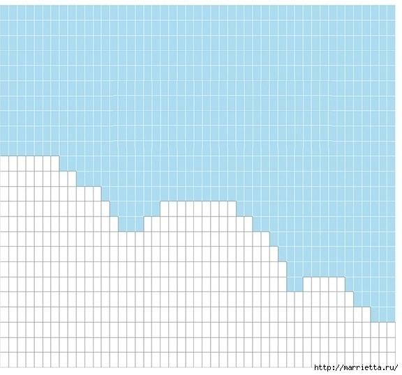 Крючком. Детский плед с морем, парусниками и воздушными шарами (18) (576x538, 145Kb)