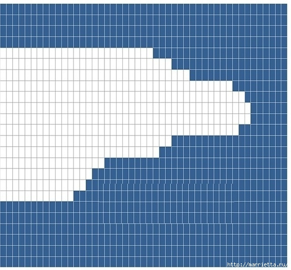 Крючком. Детский плед с морем, парусниками и воздушными шарами (22) (574x532, 178Kb)