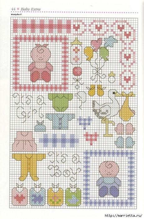 Детская вышивка крестом. Схемы (15) (462x700, 291Kb)