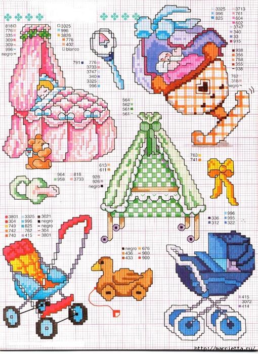 Детская вышивка крестом. Схемы (20) (510x700, 411Kb)