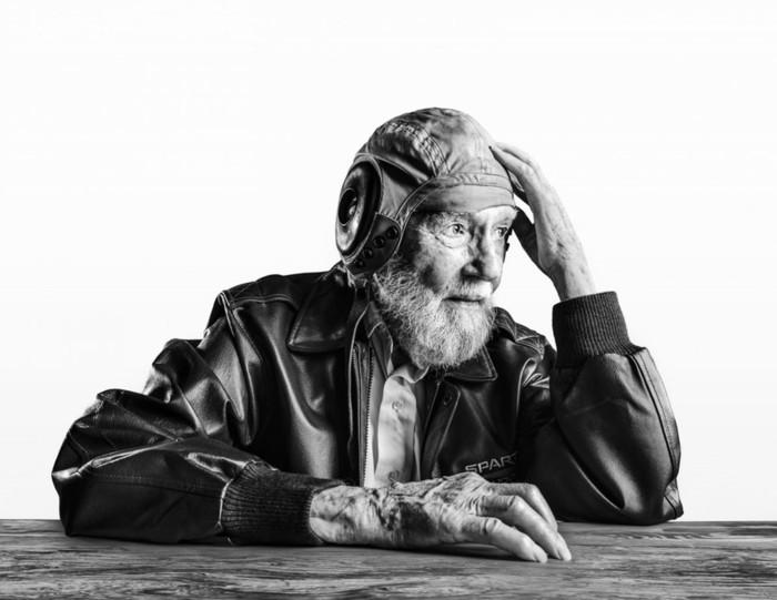 Фотопортреты людей, доживших до 100 лет!