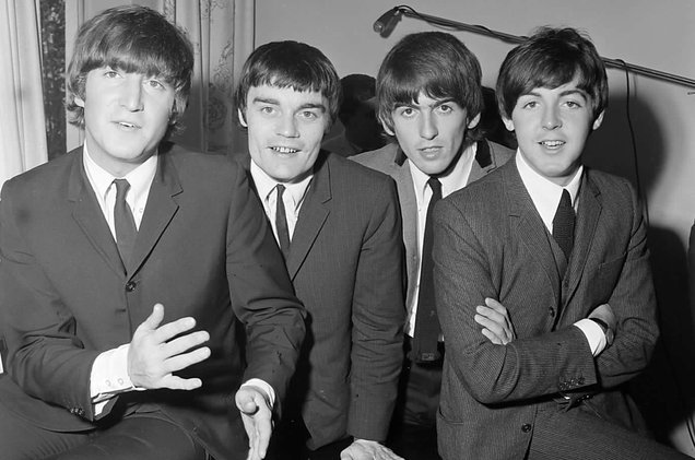 The Beatles and Jimmie Nicol 1964