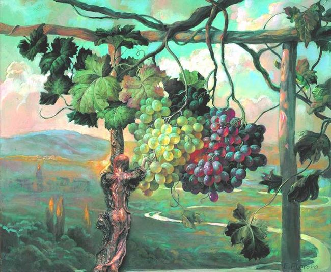 Не созревшая к осени гроздь1 (650x534, 82Kb)