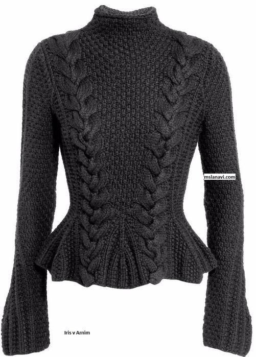 модный-пуловер-спицами-Iris-v-Arnim (501x700, 205Kb)