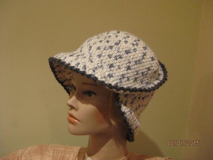 Модные шляпки на спицах
