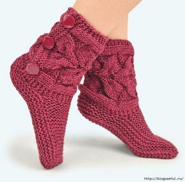 Вязать оригинальные носки