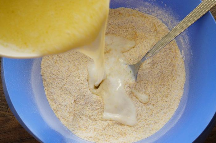 Панкейки из кукурузной муки диетические рецепт