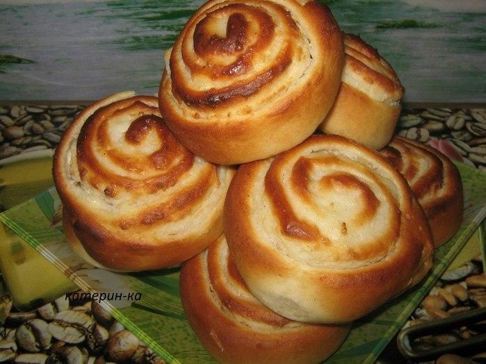 сдобные булочки с творогом рецепт с фото