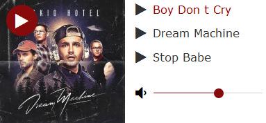 Tokio Hotel Dream Machine 2017