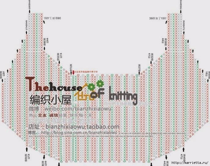 Крючком. Весенняя сумочка с цветами (24) (687x543, 317Kb)