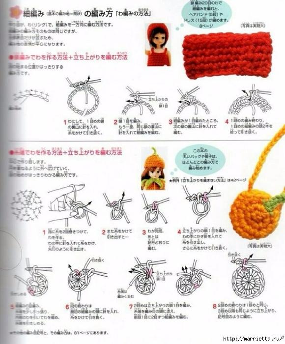Вязание одежды для маленьких кукол. Журнал со схемами (5) (580x700, 285Kb)