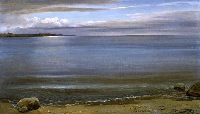 Белое море. Штиль (656x374, 202Kb)
