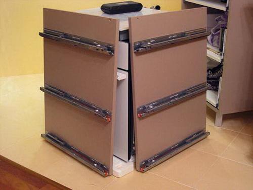 Выдвижной ящик как сделать