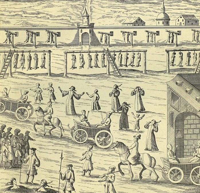 Какими представляли русских европейцы в XVII веке