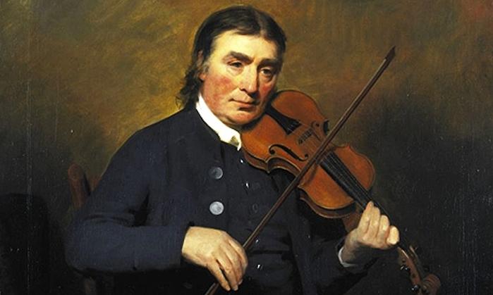 Scottish violinist and composer Niel Gow (700x419, 147Kb)
