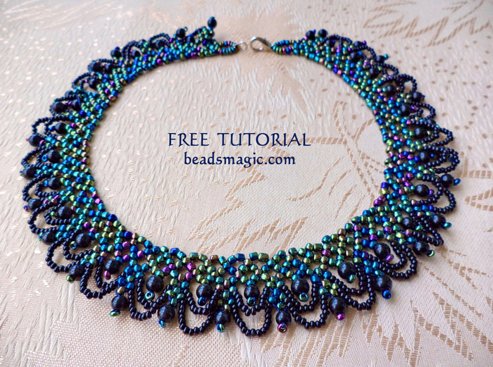 free-beading-pattern-necklace-tutorial-1 (700x521, 596Kb)