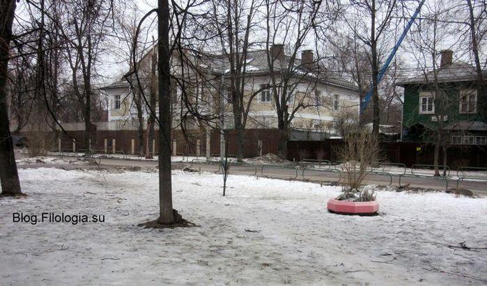 Москва. Сокол. Улица Поленова (700x411, 81Kb)