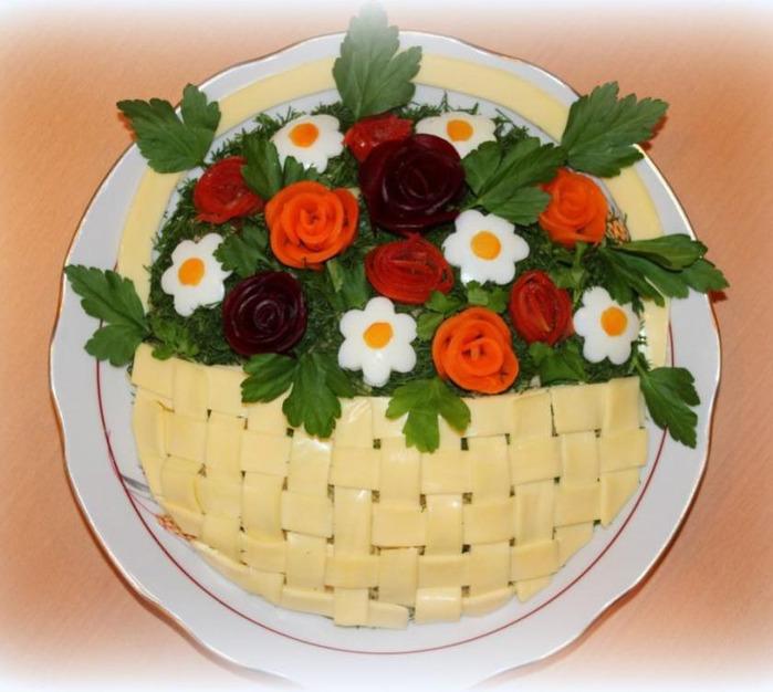 Салаты праздничные печенью рецепты фото