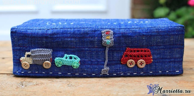 Детская аппликация крючком. Автомобили (1) (655x324, 274Kb)