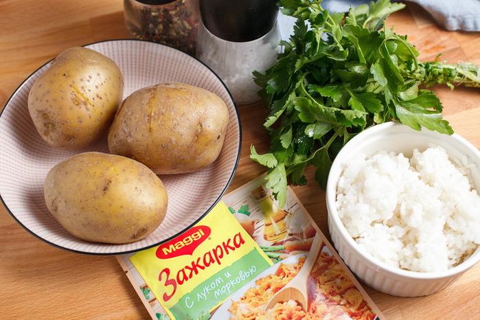 Постные рисовые котлеты рецепт с фото