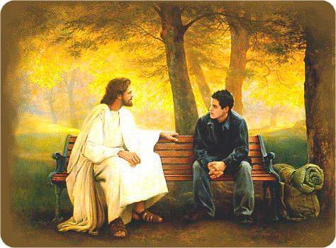 бог и мужик (474x350, 93Kb)