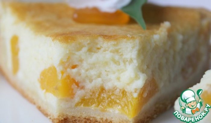 Нежный пирог творожный