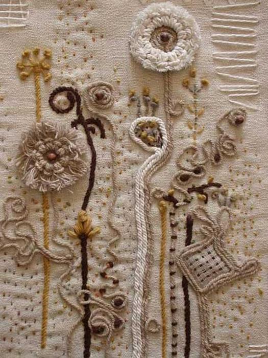 Настенные панно своими руками из ткани