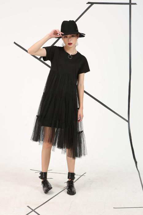 идея платье футболка
