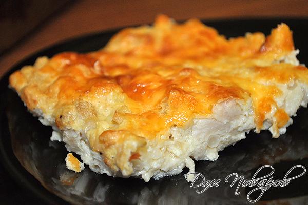запеканка с сыром и цветной капустой
