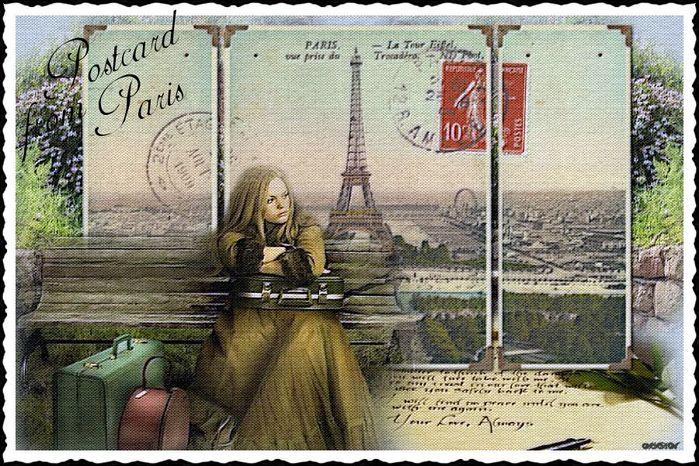 Старая открытка (700x466, 117Kb)